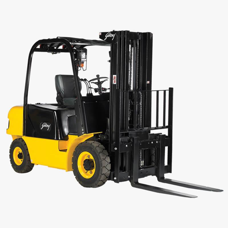 Godrej Light diesel forklift 1.5 to 3 tonne