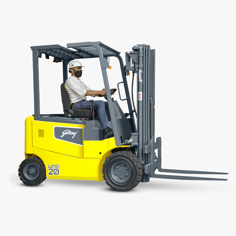 Godrej Electric Forklift 1.5 to 3 Tonne UNO Series