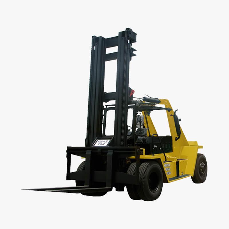 Godrej heavy duty diesel forklift 6 to 25 tonne