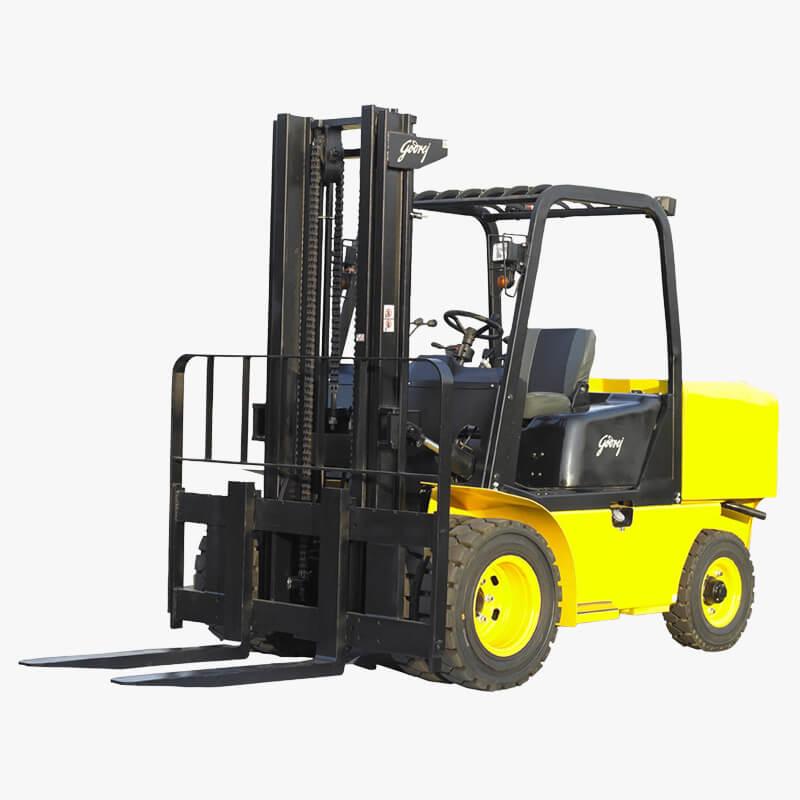 Godrej medium diesel forklift 4 to 6 tonne